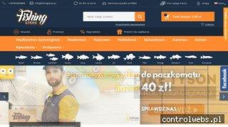 Fishing Store - Internetowy Sklep Wędkarski