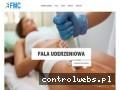 Screenshot strony uderzeniowafala.pl