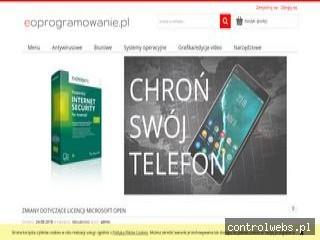 eoprogramowanie.pl - sklep internetowy z oprogramowaniem