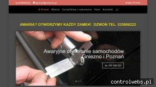 Awaryjne otwieranie samochodów zamków Poznań