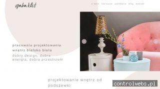Projektowanie wnętrz Bielsko-Biała, cały Śląsk • Gaba Kliś