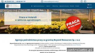 Beyondresources.pl - oferty pracy holandia