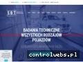 Screenshot strony www.sbt-nowysacz.pl