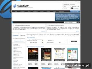 Actualizer - szablony stron www