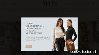Sklep z odzieżą - Wibs.pl