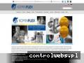 Screenshot strony kominflex.com.pl