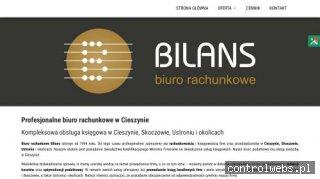 www.biurobilans.eu biuro rachunkowe cieszyn