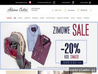 www.adrianocalitri.pl koszule męskie