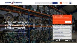 volvo-uzywane.pl części do ciężarówek volvo