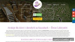 www.swiatlabiryntow.pl Labirynt w kukurydzy Gdańsk