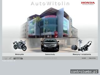 Honda Warszawa AutoWitolin - Największy Salon Honda w Pols