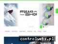 Screenshot strony www.freaksshop.pl