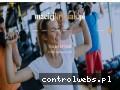 Screenshot strony www.maciejkrysiak.pl