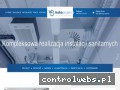 Screenshot strony hakoprojekt.pl