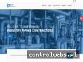 Screenshot strony www.ipcontractors.pl
