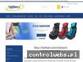 Screenshot strony www.fajnytowar.pl