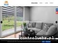 Screenshot strony sunmar-rolety.com.pl