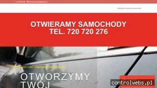 Awaryjne otwieranie aut samochodów zamków Poznań