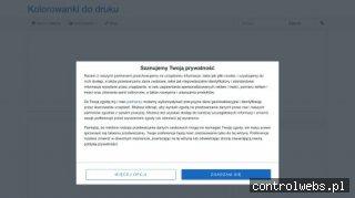 Kolorowanki do druku - e-kolorowanka.pl