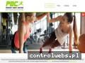 Screenshot strony www.megapower.pruszkow.pl