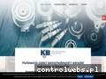 Screenshot strony www.kjb.com.pl