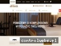 Screenshot strony www.all4hotels.pl