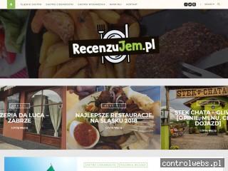 RecenzuJem.pl - Gdzie dobrze zjeść na Śląsku?