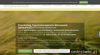 Psycholog, psychoterapeuta Katarzyna Stefaniak