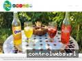 Screenshot strony www.ajka-napoje.pl