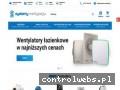 Screenshot strony systemy-wentylacji.pl