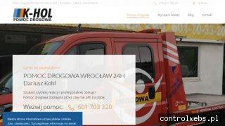 Pomoc Drogowa 24 h K-HOL