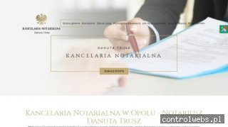 www.notariuszeopole.pl