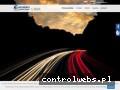 Screenshot strony www.waszkiewicz-transport.com
