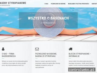 Basenystyropianowe.pl - budowa z bloczków