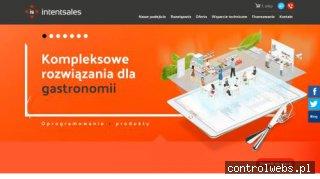 intentsales.pl oprogramowanie dla gastronomii Warszawa