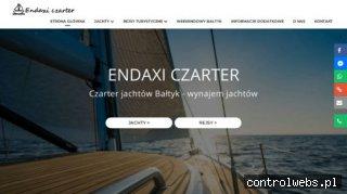 Czartery jachtów Bałtyk - Gdańsk. Rejsy turystyczne Endaxi