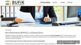 www.bufik-zg.pl Biuro rachunkowe zielona góra