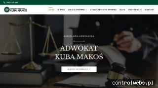 Adwokat Ostrołęka - Kancelaria Adwokacka Kuba Makoś