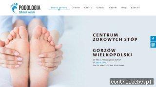 podologgorzow.pl konsultacja podologiczna gorzów