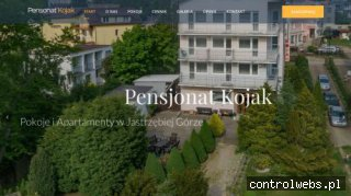 www.pensjonatkojak.pl Hotel jastrzębia góra