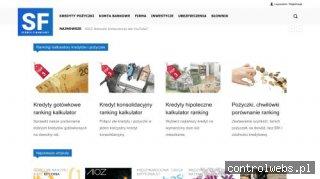 SerwisFinansowy.pl przegląd produktów bankowych