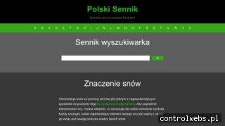 Sennik Polski online - sprawdź znaczenie swoich snów!