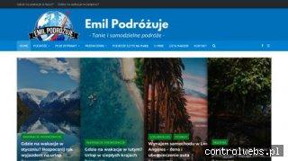 Blog EmilPodrozuje.pl - tanie i samodzielne podróże