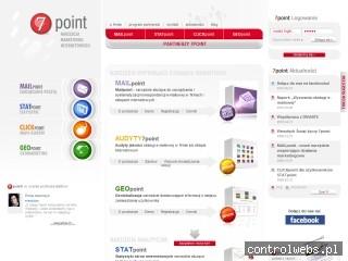 7point-statystyki internetowe,analiza stron www