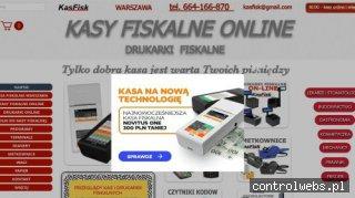 Kasy fiskalne online KasFisk