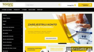 sklep.torys.eu materiały montażowe do okien Lublin