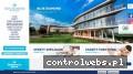 Screenshot strony www.bluediamond-hotel.pl
