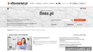 Finte.pl - blog finansowy, promocje bankowe