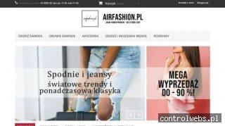 Airfasion - sklep z modną odzieżą