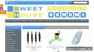 Sweet House - tekstylia artykuły domowe